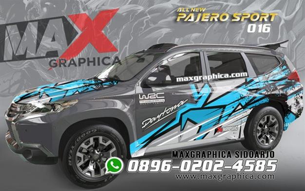sticker Pajero-maxgraphica cutting sticker sidoarjo